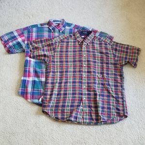 Pair of Tommy Hilfiger Short Sleeve Button Ups